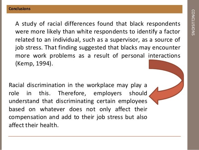 racial discrimination in the work place essay Racial discrimination essay racial discrimination in the workplace essays: over 180,000 racial discrimination in the workplace essays, racial discrimination.