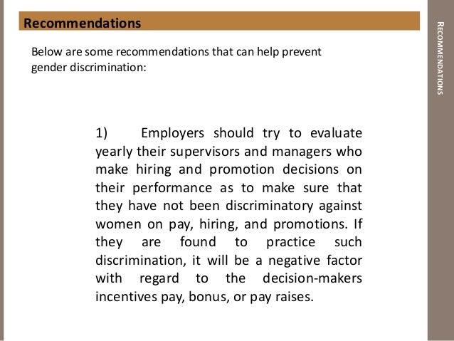 comparison sex discrimination v race discrimination