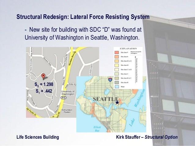 Evaluation of strategies for seismic design