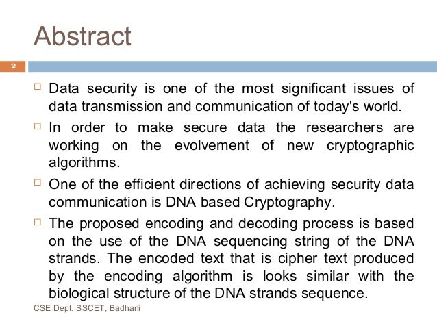 Computer engineering thesis abstract masters dna fingerprinting university