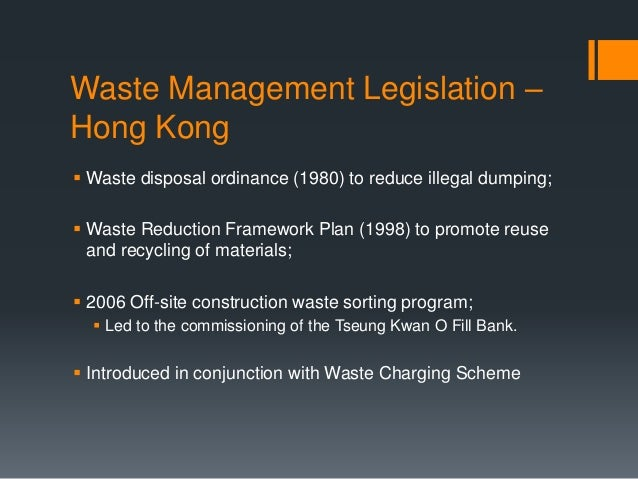 Construction and demolition waste management thesis