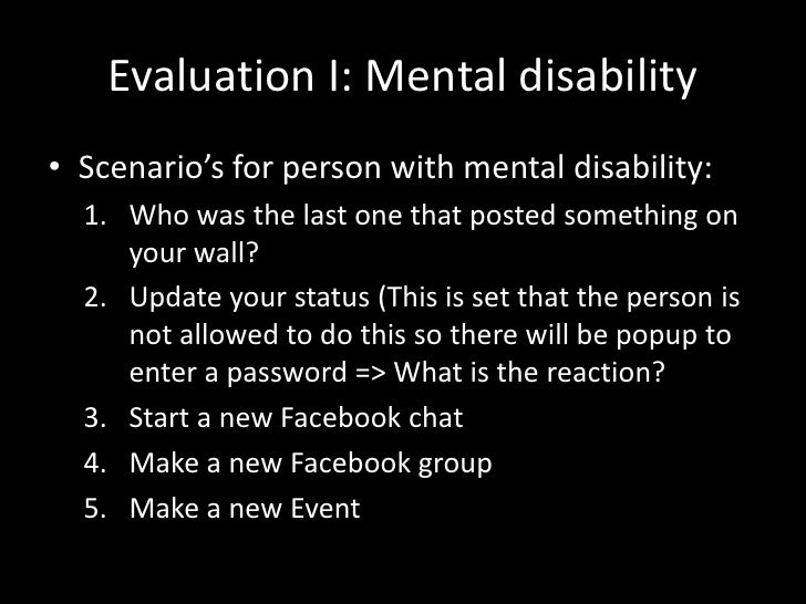Thesis about person with disability