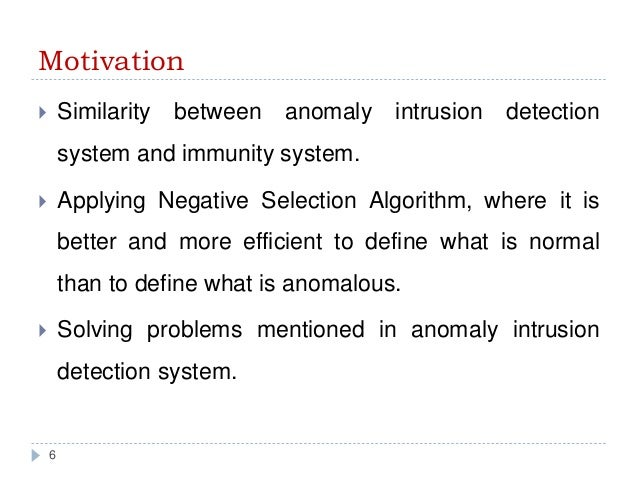 Thesis on intrusion detection systems