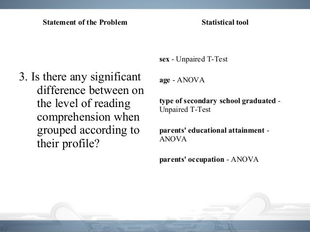 assumptions and conditions for using statistical Assumptions of statistical tests' i pointed out that under optimal conditions when dealing with this blog will present the a summary of two statistical.