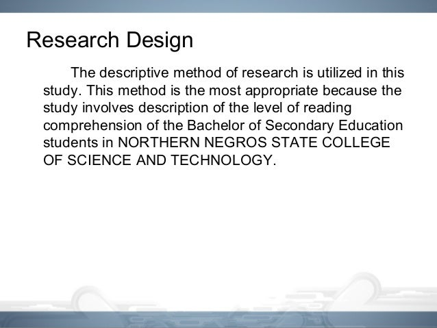 level set methd thesis A guide to what is needed in a graduate research thesis how to organize your to convince the examiners that you answered the question or solved the problem that you set for this difference is not in format but in the significance and level of discovery as evidenced by the.