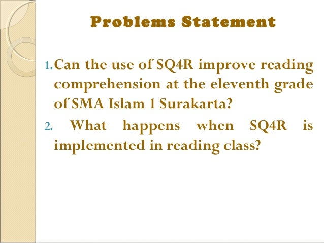 The SQ3R Reading Method