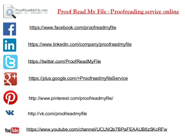 Academic Proofreading Services for English Documents
