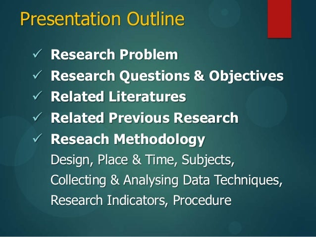 Classroom Action Research Design : Thesis proposal ok