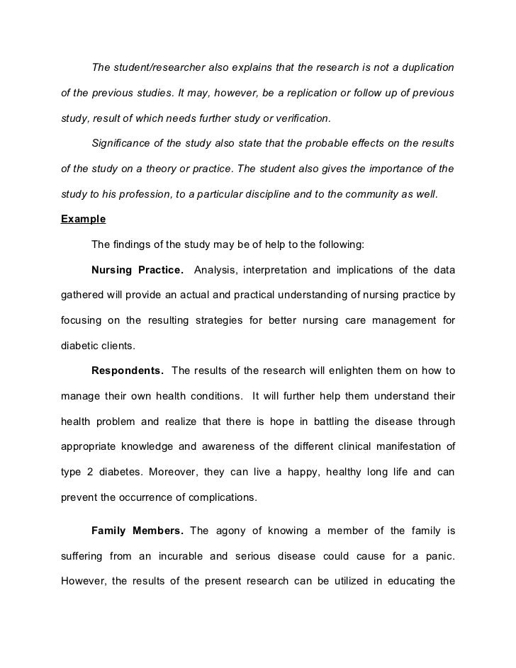 thesis of nursing students