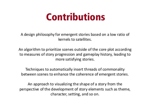 developing a thesis proposal General information for writing your thesis proposalyour thesis proposal needs to be completed by the end of your second semester as a classified grad student prior to beginning to write.