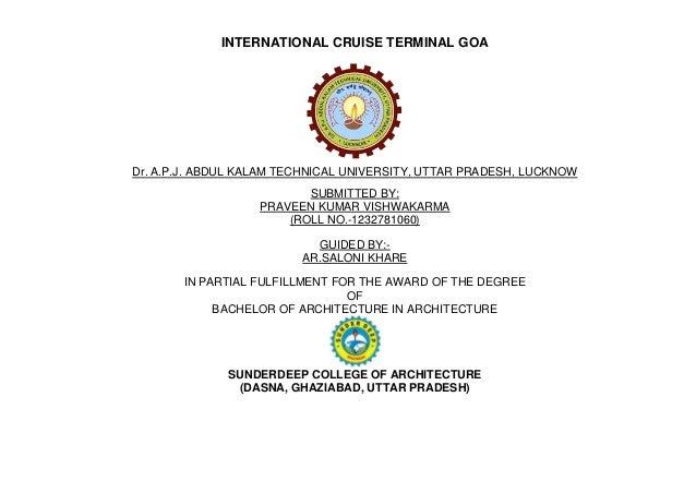cruise terminal thesis slideshare