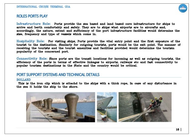 INTERNATIONAL CRUISE TERMINAL -THESIS REPORT