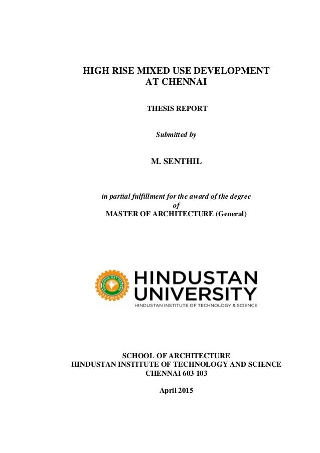 Master thesis in international development