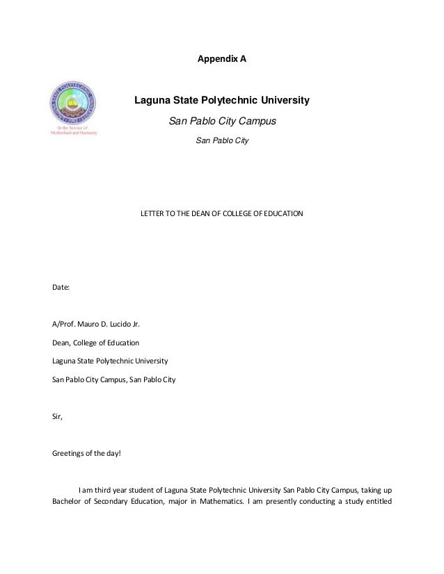 letter for interview request