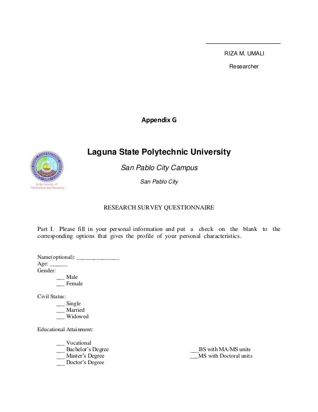 lspu thesis format