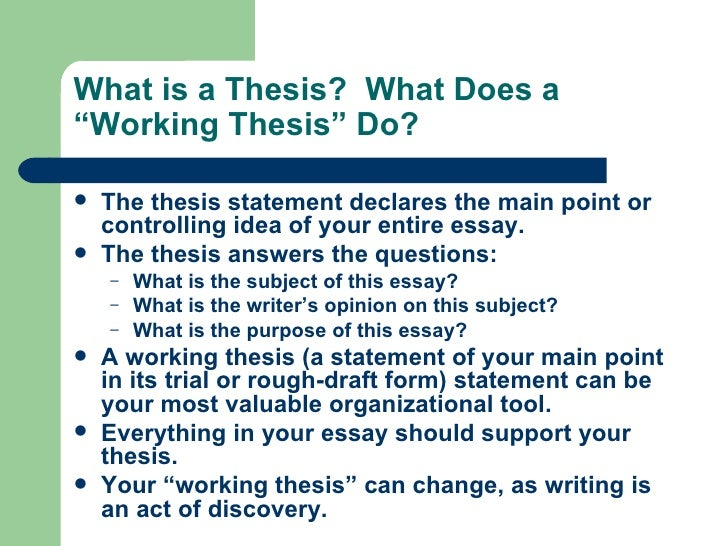 can a thesis be in the form of a question Just as you can't root for both the yankees and the mets, you can't argue both sides of a topic in your thesis statement learn more about the importance of picking sides by reading the post the secrets of a strong argumentative essay.