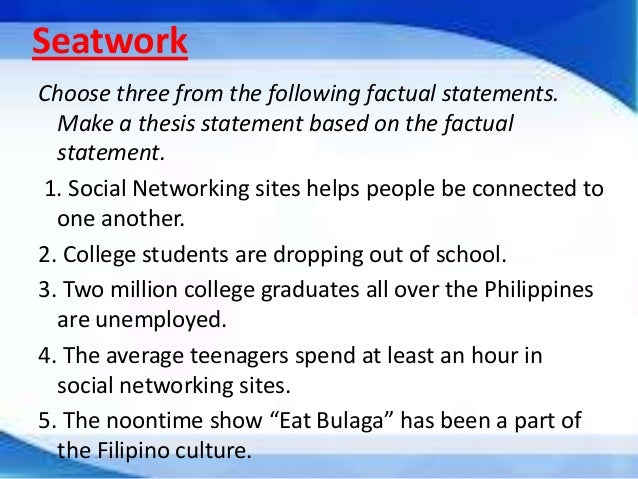 Thesis abstract online philippines