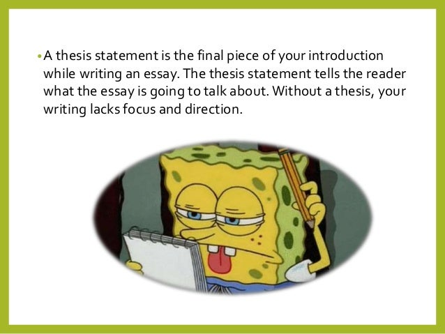 how to create a thesis question