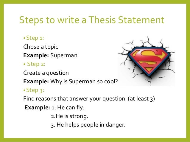 superman thesis
