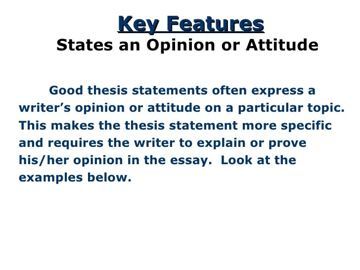 thesis statement 13 <ul><li> good thesis statements