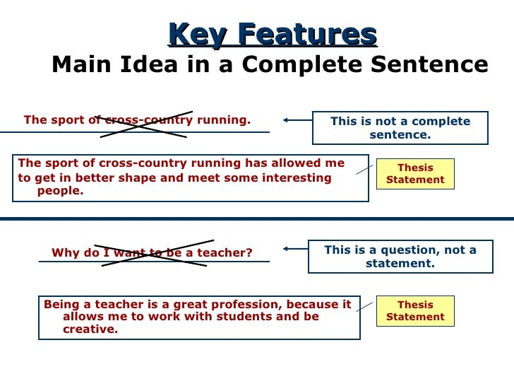 How to Craft a Killer Thesis Statement