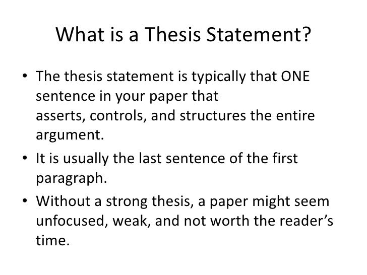 essay with thesis statement example the answer to the question is ...