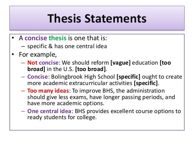 succinct thesis generator A problem statement is a clear description of the issue(s), it includes a vision, issue statement, and method used to solve the problem.