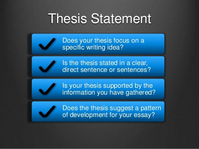 a thesis is a statement of absolute fact A thesis is not an announcement of the subject: my subject is the incompetence of the supreme court vs the supreme court made a mistake when it ruled in favor of george w bush in the 2000 election a thesis is not a statement of absolute fact: jane austen is the author of pride and prejudice a thesis is not the whole essay: a thesis is your.