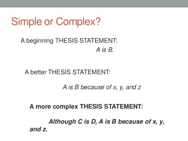 X thesis com how to write precise with examples