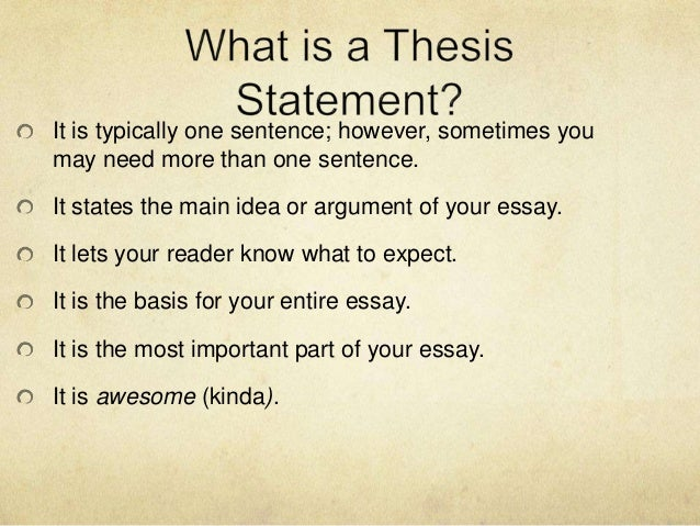 Thesis Statement For Comparison Essay Thesis Statements  Gay Marriage Essay Thesis also English Essay Topics Thesis Statements Expanded Version Narrative Essays Examples For High School