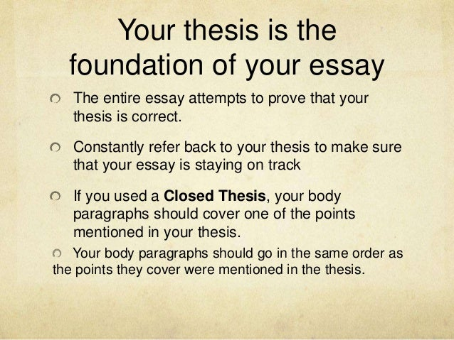 Thesis Statement Descriptive Essay  Your Thesis  Topics Of Essays For High School Students also English Essay Book Thesis Statements Expanded Version Thesis Essay