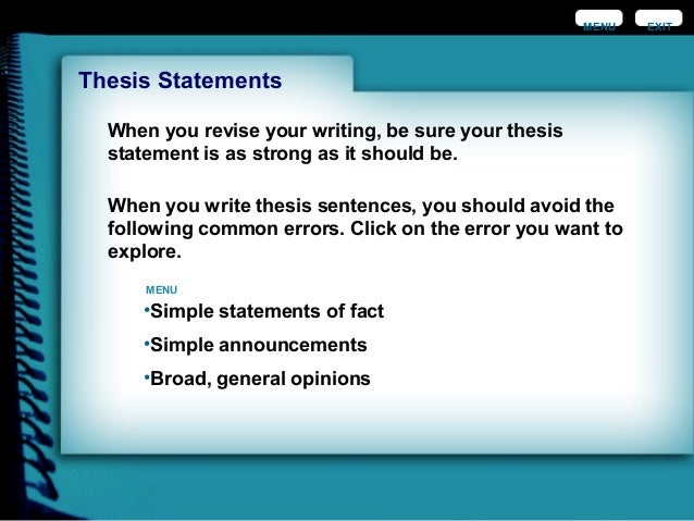 controlling statement essay Start studying engl1101-composition and rhetoric - development of thesis statement learn vocabulary, terms, and more with flashcards, games, and other.