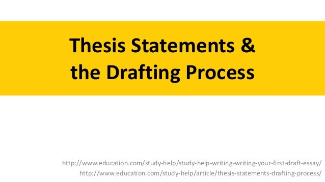 Help writing thesis statement exercises