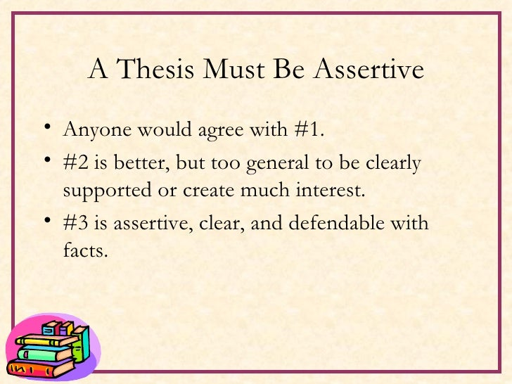 assertive thesis Essayblogonline info phd dissertation on assertive community treatment where to buy dissertation uk research proposal service.
