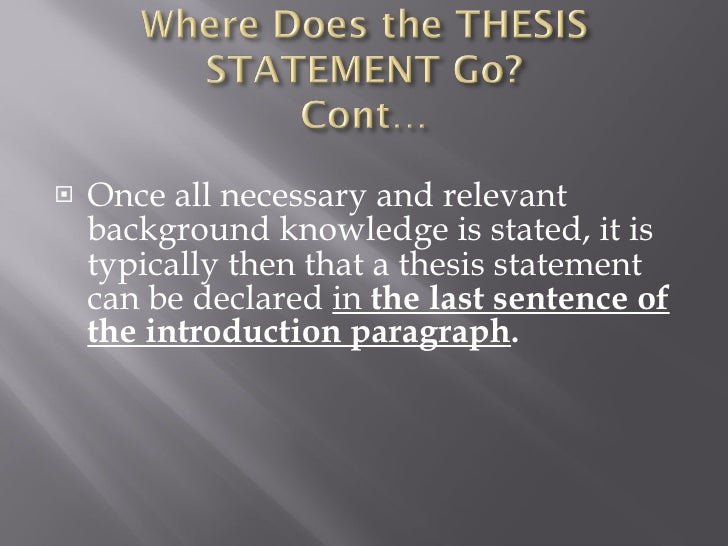 where is thesis statement 您的位置: 首页 / 最新资讯 / 默认 / thesis statement for persuasive essay key, creative writing exercises key stage 2, how to do your homework very fast.