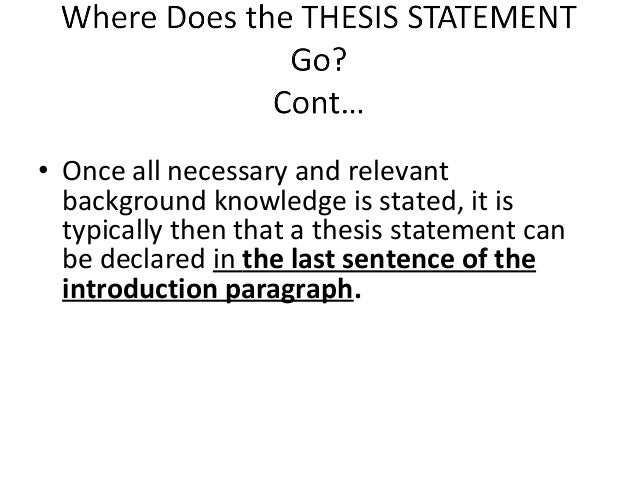 thesis statement shopping Thesis statement is a kind of mapping tool that helps you organize your ideas, and it helps your reader follow your argument in this body paragraph, after the assertion, include any.