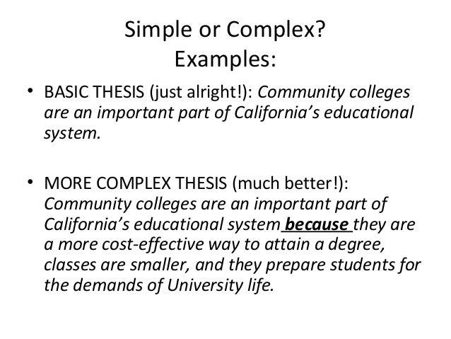 simple thesis generator