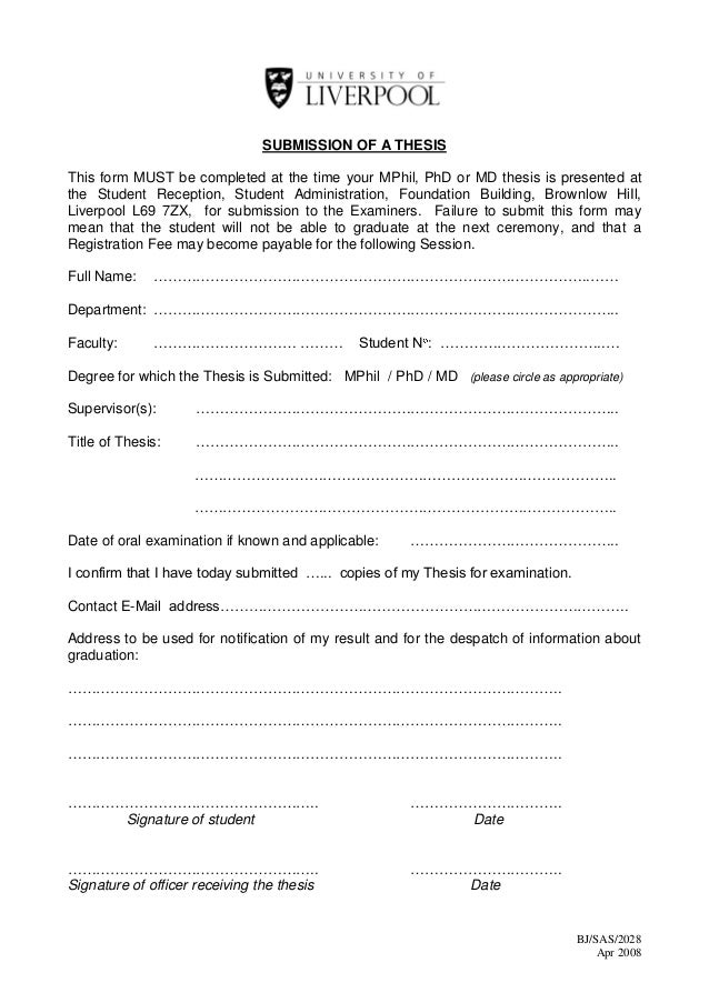thesis submission form nus You'll receive a doctoral guide when you fill in this form also, nus phd thesis library how to write an abstract nus phd thesis submission community.