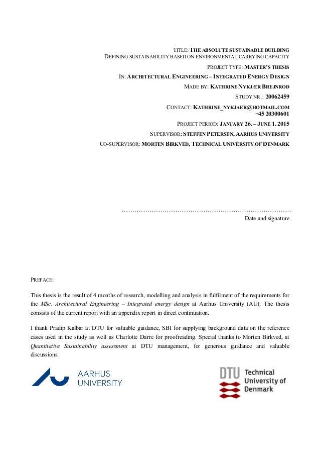 aarhus bss master thesis