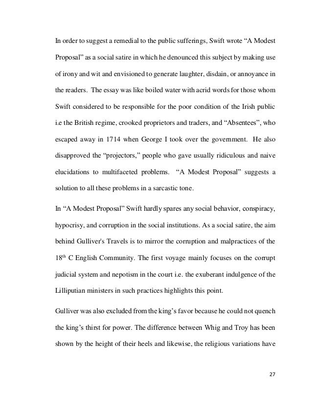 a modest proposal essay topics what is the real thesis for a lolsmdnsfree examples essay and