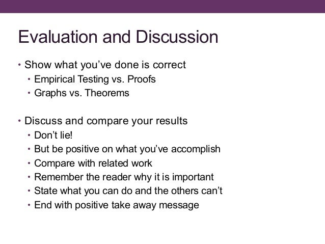 how to write discussion thesis In writing the discussion session, be sure to adequately discuss the work of other authors who collected data on the same or related scientific questions be sure to discuss how their work is relevant to your work.