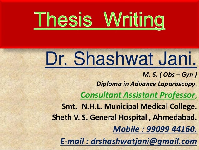 thesis topics in obs and gynae