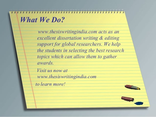 DISSERTATION WRITERS FROM INDIA