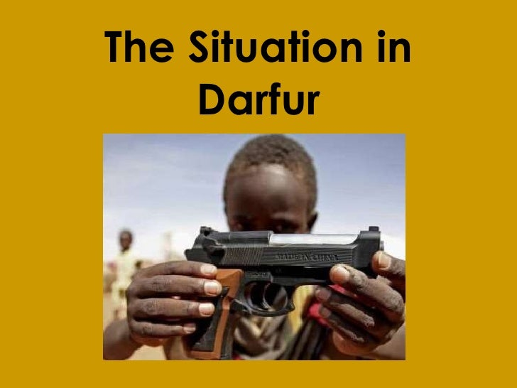 The Situation in Darfur