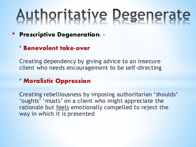 • Confronting Degeneration: - * Sledgehammer Therapist raises issues aggressively, displacing their own anxiety into a pun...