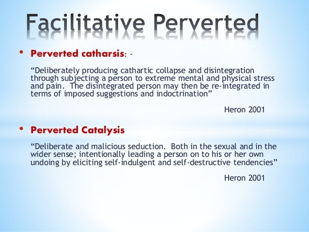 An Introduction to the Six Categories of Intervention perspective [based on Heron]