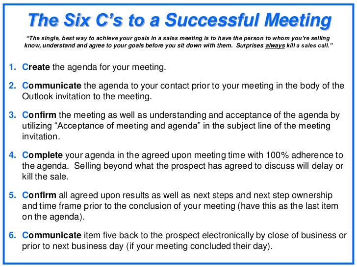 how to run a successful meeting This business course will give trainees knowledge and understanding on how to run a successful meeting browse our wide range of e-learning courses.