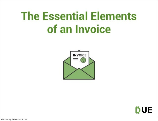 The Six Different Kinds Of Invoice