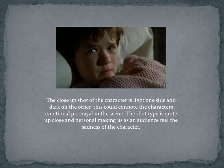 semiotic analysis of the sixth sense This storyform represents the second and more accurate group analysis of this film for an in-depth discussion as to the changes made and the reasons why, please visit the sixth sense re-analysis in our discuss dramatica section.