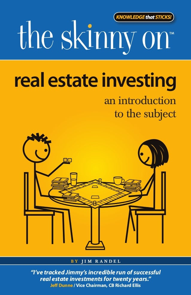 KNOWLEDGE that STICKS!real estate investing                                   an introduction                             ...